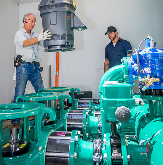 SWFL Pump Station Installation for Golf Courses and Communities | Metro PSI Pump Station Services